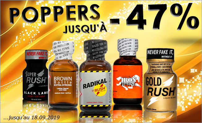 Poppers -47%