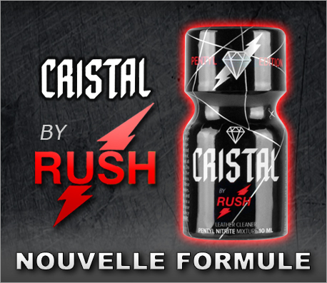 Poppers Cristal by Rush