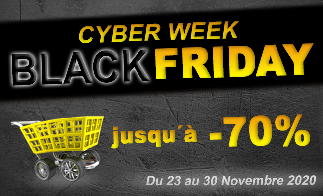 Nos promotions Black Friday