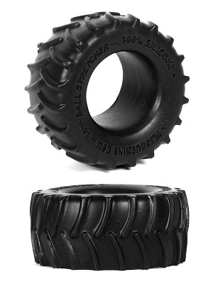 Burning Wheels 100% Silicone Cockring CK02 Noir