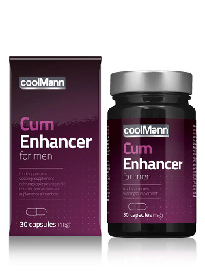 Complement alimentaire CoolMann Cum Enhancer 30 comprimes
