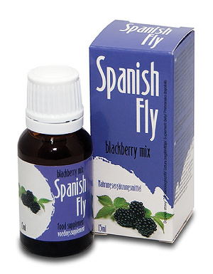 Complement alimentaire Spanish Fly Blackbery Mix 15 ml
