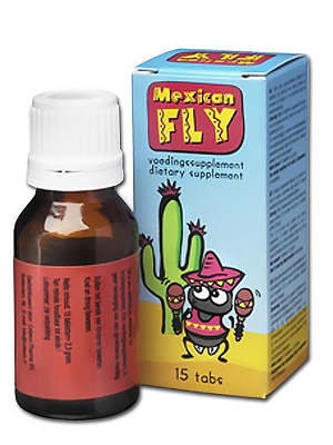 Complément alimentaire Mexican Fly 15 pilules