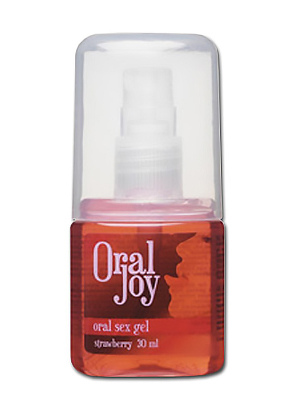Gel comestible Oral Joy fraise 30 ml