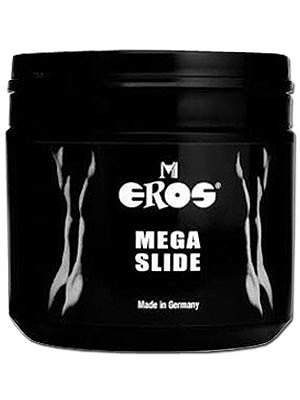 Lubrifiant à base d'eau - Eros Mega Slide 500 ml
