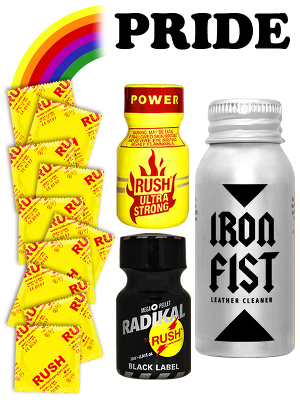 Pack de Poppers Pride 02