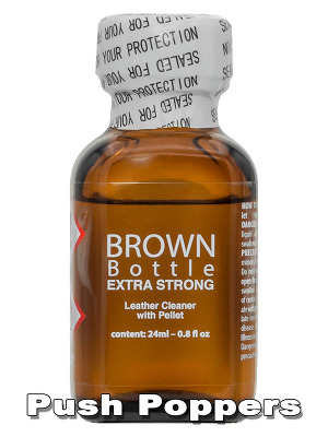 Poppers Brown Bottle Extra Strong 24mL