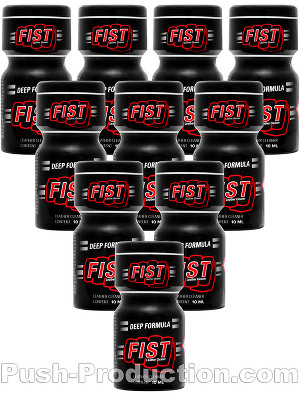 Poppers Fist Strong 10 ml - pack de 10