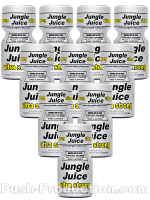 Poppers Jungle Juice Ultra Strong 9 ml - pack de 10