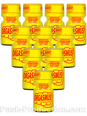 Poppers Orgasmus 9 ml - pack de 10