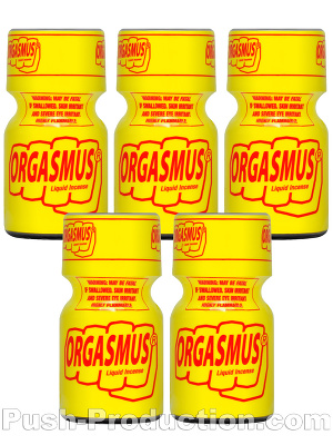 Poppers Orgasmus 9 ml - pack de 5