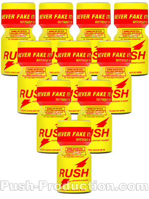 Poppers Rush Original 10 ml - pack de 10