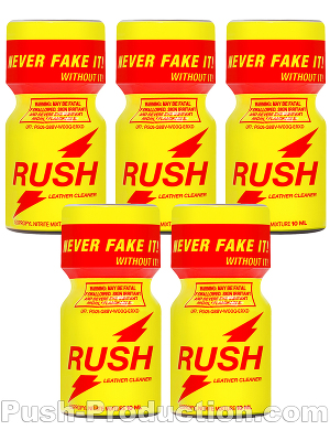 Poppers Rush Original 10 ml - pack de 5