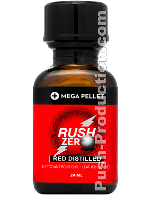 Poppers Rush Zero Red Distilled 24 ml