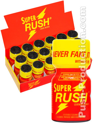 Poppers Super Rush 10 ml - pack de 18