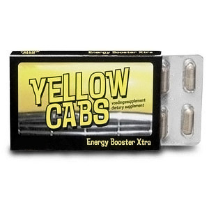Yellow Cabs - Xtra - 10 capsules