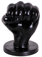 All Black Fist Plug 94 - Large