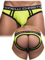 Andrew Christian - Jockslip Air Mesh Almost Naked - Jaune