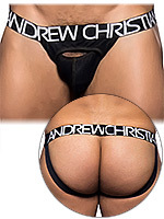 Andrew Christian - Jockstrap Eclipse Denim noir