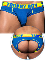 Andrew Christian - Jockstrap Trophy Boy Locker Room bleu