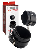 Behave! Luxury Fetish - Menottes Chevilles Obey Me