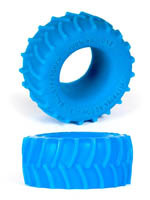 Burning Wheels 100% Silicone Cockring CK02 Bleu