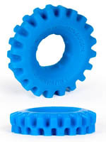 Burning Wheels 100% Silicone Cockring CK03 Bleu