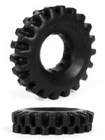Burning Wheels 100% Silicone Cockring CK03 Noir