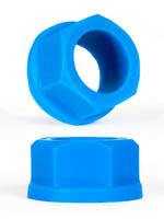 Burning Wheels 100% Silicone Cockring CK04 Bleu