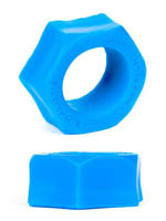 Burning Wheels 100% Silicone Cockring CK07 Bleu