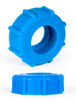 Burning Wheels 100% Silicone Cockring CK08 Bleu