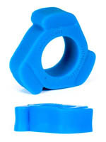 Burning Wheels 100% Silicone Cockring CK11 Bleu