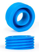 Burning Wheels 100% Silicone Cockring CK12 Bleu