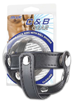 C&B Gear - Cockring T-Style Ball Divider