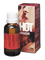 Complement alimentaire Hot Orgasm Erotic Drops 30 ml