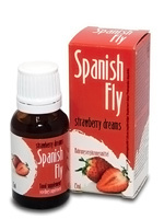 Complement alimentaire Spanish Fly Strawberry Dreams 15 ml