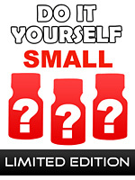 Do It Yourself Small - 3 poppers au prix de 2