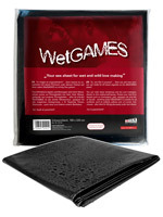 Drap impermeable Wet Games Sex noir de 180x220 cm