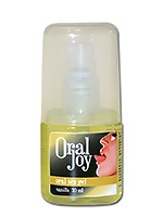 Gel comestible Oral Joy vanille 30 ml