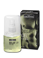 Gel retardant - Delay Gel coolMann 30mL