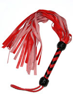 Martinet en cuir rouge Red Leather Flogger