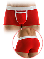 Modus Vivendi - Boxer Open Pocket rouge