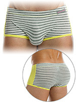 Modus Vivendi - Boxer Striped Flash Brazil gris