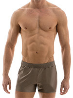 Modus Vivendi - Elegant Shorts - Dust marron