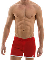 Modus Vivendi - Sporty Shorts - Rouge
