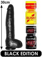 Pack de Poppers Black Brad Stone
