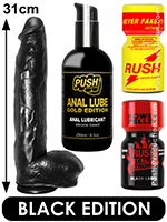 Pack de Poppers Black Chad Hunt
