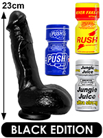 Pack de Poppers Black Jeremy Penn