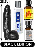 Pack de Poppers Black Ken Ryker