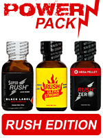Pack de poppers Power 08 Rush Edition